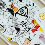 Sådan kan du være kreativ ved brug af stickers